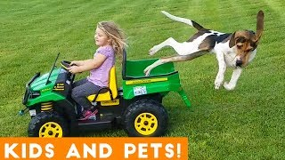 Funniest Kids And Animals Compilation Ever | Funny Pet Videos