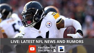Le'Veon Bell Turns Down Contract, Julio Jones Holdout, Earl Thomas & Gronk Update | Quick Hitters