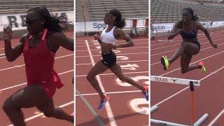 Workout Wednesday: Courtney Okolo, Ashley Spencer, Morolake Akinosun