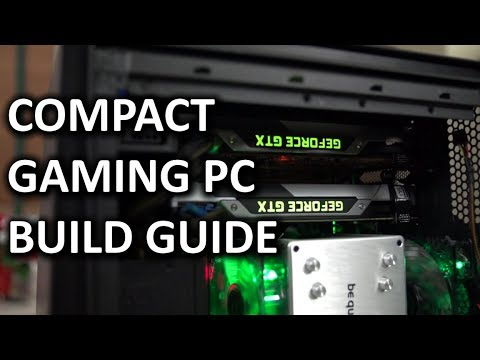 "ULTIMATE Intel Compact SLI Gaming PC Computer ""How To"" Build Guide - Smashpipe Tech"