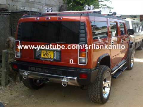 Hummers In Sri Lanka