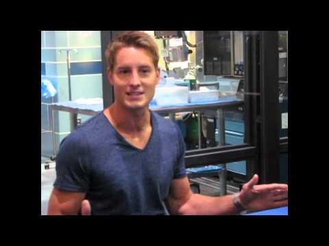 Justin Hartley Interview: 'Emily Owens, M.D.' - YouTube
