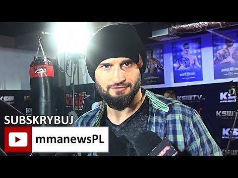 KSW 41: Artur Sowiński zamierza znokautować Klebera Koike w 2 rundzie