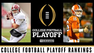 College Football Playoff Rankings: Top 5 unchanged   CBS Sports HQ