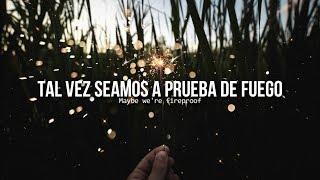 Fireproof • One Direction   Letra en español / inglés