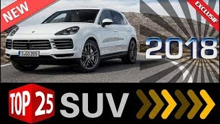 Top 25 New SUV for 2018