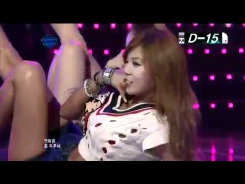 110728 | HyunA (4Minute) - Bubble Pop