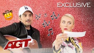 Brad Paisley Ft. Julianne Hough: The AGT Song - America's Got Talent 2019