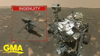 NASA reschedules the flight of Ingenuity Mars Helicopter | GMA