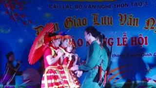 múa đẹp nhất 2017 thơ tình của núi - đội văn nghệ thôn táo 3