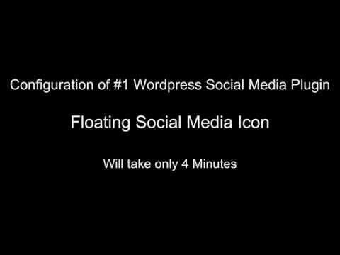 Floating Social Media Icon Wordpress Plugin Configuration and Basic Troubleshooting