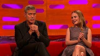 George Clooney's honeymoon at Comic Con - The Graham Norton Show: Series 17 Episode 7 - BBC One