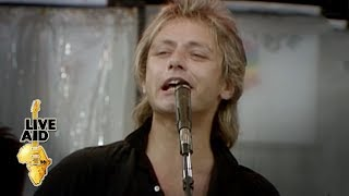 The Cars - Just What I Needed (Live Aid 1985)