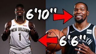 The NBA EXPOSED Kevin Durant's Height! THE WEIRD REASON HE LIED ABOUT IT