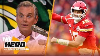 Mahomes, not Jackson, will be 'the guy' for 15 years, Colin doesn't trust Packers | NFL | THE HERD