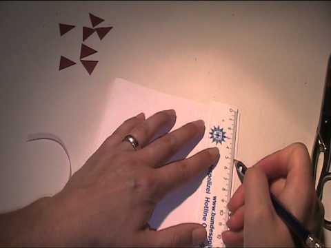 anleitung geburtstagskarte mit girlande aus papier. Black Bedroom Furniture Sets. Home Design Ideas