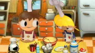 Telmo y Tula cocinan Crepes - dibujos para niños