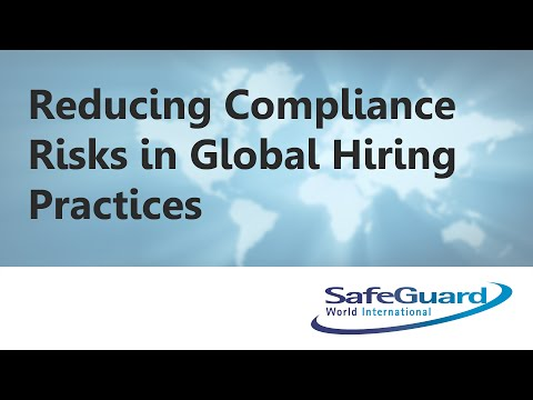 Reducing Compliance Risks in Global Hiring Practices