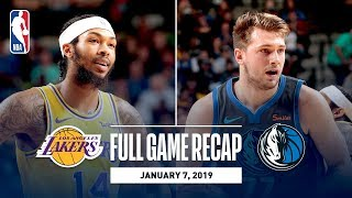 Full Game Recap: Lakers vs Mavericks | Lakers Come Out Strong In Second Half