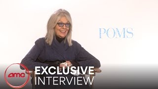 POMS - Exclusive Interview (Diane Keaton, Jacki Weaver, Rhea Perlman)  | AMC Theatres (2019)