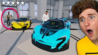 Stealing EVERY MCLAREN From The Dealership In GTA 5.. (Mods)