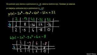 Hornerjev algoritem 7