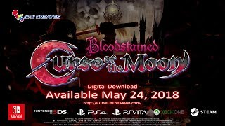 Bloodstained: Curse of the Moon - Trailer
