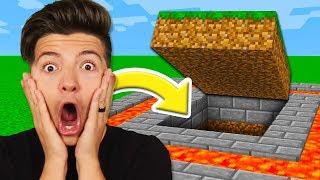 Preston Found a SECRET Underground Base! (Minecraft)