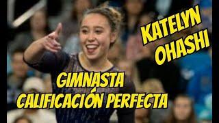 ¿Quien es Katelyn Ohashi?  La gimnasta del 10 perfecto.