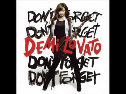 Don't Forget (Album Version)