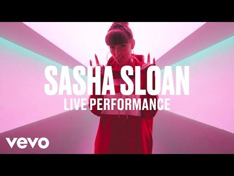 Sasha Sloan - Normal (Live) | Vevo DSCVR