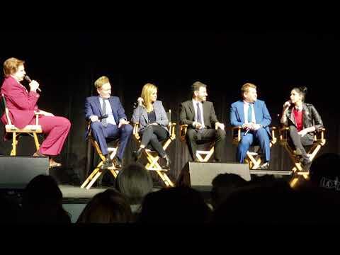 Ron Burgundy interviews Conan O'Brien, Kimmel, Sarah Silverman, James Corden, Samantha Bee #TeamCOCO