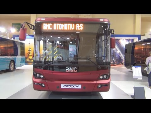 BMC Procity 12 M Bus (2016) Exterior and Interior in 3D