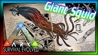 ARK Dev Kit TUSOTEUTHIS -THE GIANT SQUID - KRAKEN