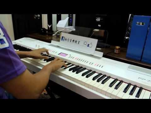 真愛黑白配片尾曲-Bii畢書盡《幸福無關》  孟儒老師鋼琴演奏版