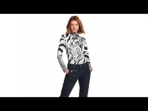 Bogner Beline Womens Baselayer in Black and White