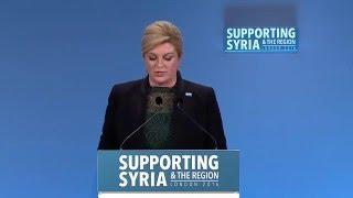 Kolinda Grabar-Kitarovic, President, Croatia,