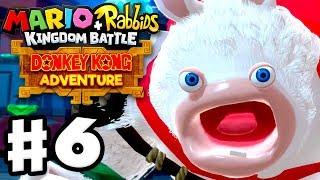 Mario + Rabbids Kingdom Battle: Donkey Kong Adventure DLC - Gameplay Walkthrough Part 6