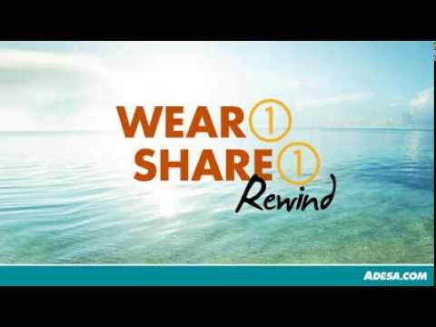 ADESA Wear1Share1 Contest Recap and Photo Montage