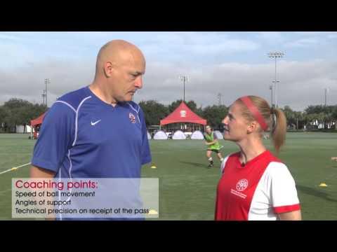 NSCAA/Kwik Goal Training Activity: 3v1 Keep Away