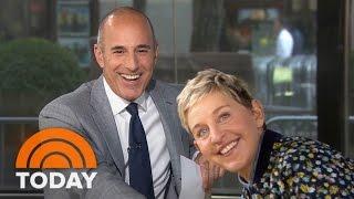 Ellen DeGeneres On Prank War With Matt Lauer, New Season | TODAY