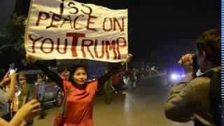 Vì sao ca sĩ Mai Khôi bị làng zân chủ sỉ vả vì khẩu hiệu xúc phạm Tổng thống Mỹ?