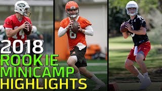 2018 Rookie Minicamp Highlights: Mayfield, Jackson, Griffin, Barkley & More!   NFL