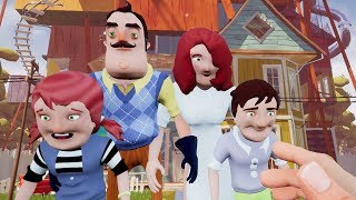 MEETING THE NEIGHBOR'S FAMILY?!   Hello Neighbor