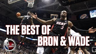 The best of LeBron James and Dwyane Wade with the Heat | NBA Highlights
