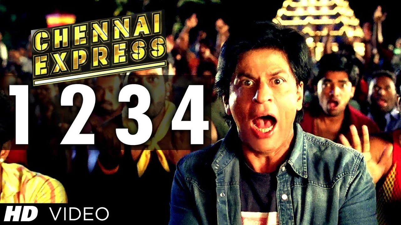 one two three four chennai express mp3 download