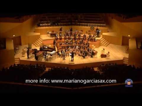 John Mackey soprano saxophone concerto. 1st mov.