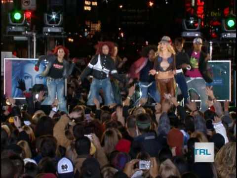 Britney Spears HQ Times Square TRL Performances 2003