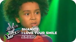 Shanice - I love your smile (Amaro)   Blind Auditions   The Voice Kids 2016   SAT.1