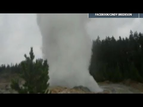 Surprise Eruption in Yellowstone